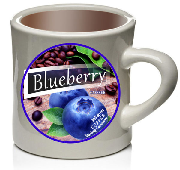 Blueberry Coffee Coffee Cup Blueberry