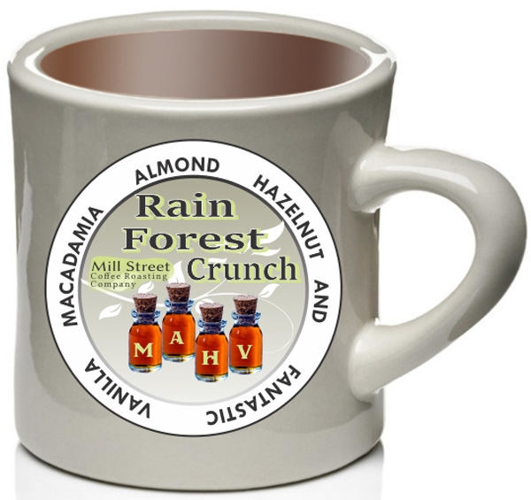 Rain Forest Crunch Coffee Cup Rain Forest Crunch