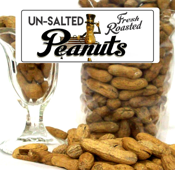 Roasted Un-Salted Peanuts Label