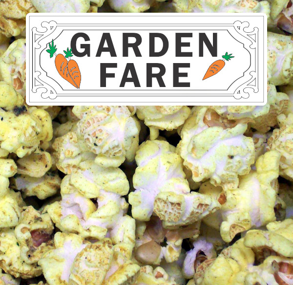 Garden Fare Popcorn Label